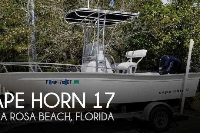 1996 Cape Horn 17 - For Sale at Santa Rosa Beach, FL 32459 - ID 146359