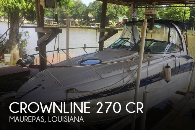 2006 Crownline 270 CR - For Sale at Maurepas, LA 70449 - ID 147288