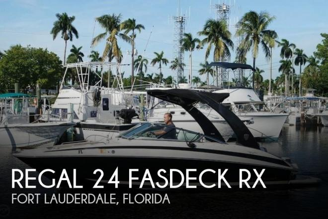 2014 Regal 24 FasDeck RX - For Sale at Fort Lauderdale, FL 33331 - ID 144540