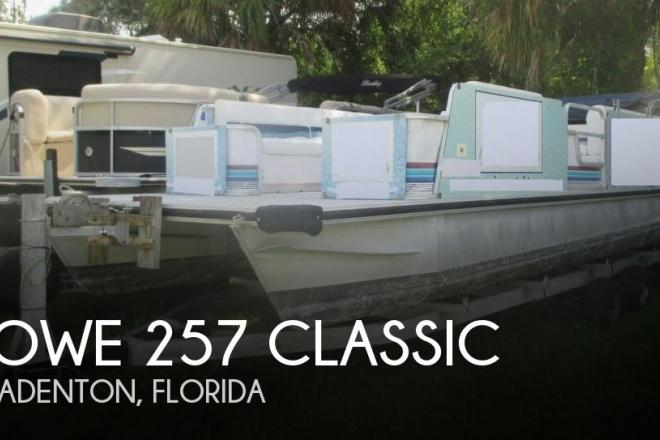 1992 Lowe 257 Classic - For Sale at Bradenton, FL 34202 - ID 144551