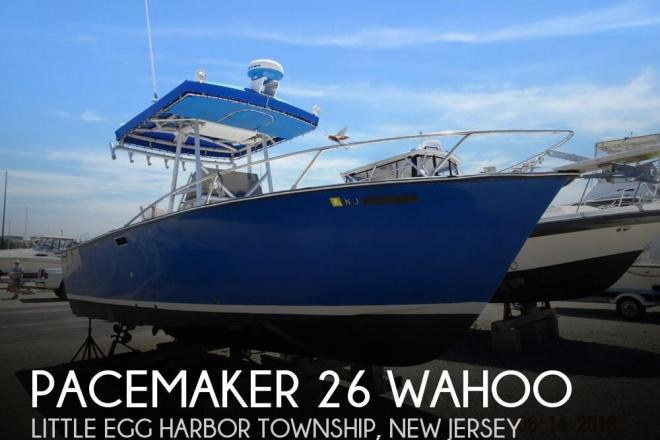 1977 Pacemaker 26 Wahoo - For Sale at Tuckerton, NJ 8087 - ID 144558