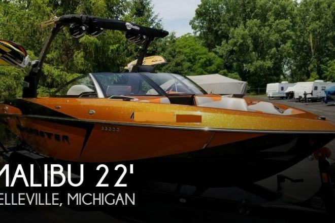 2016 Malibu Wakesetter 22 VLX - For Sale at Belleville, MI 48111 - ID 144365