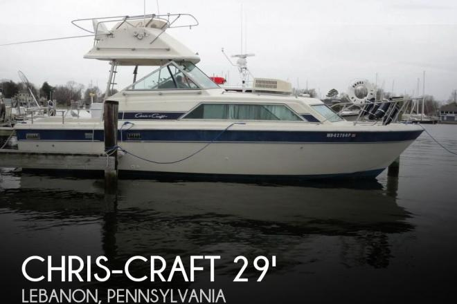 1984 Chris Craft Catalina 291 - For Sale at Kinzers, PA 17535 - ID 144030