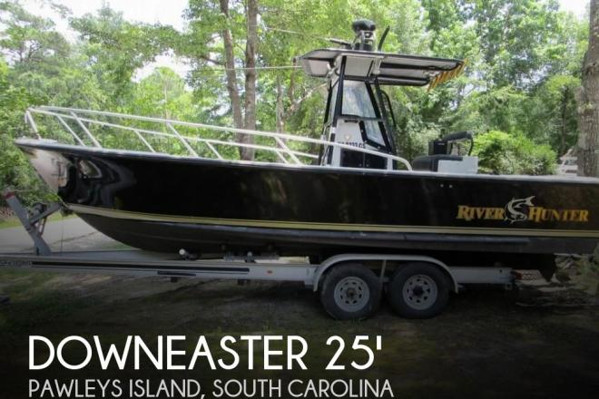 1996 Downeast 25 River Hunter - For Sale at Pawleys Island, SC 29585 - ID 145331