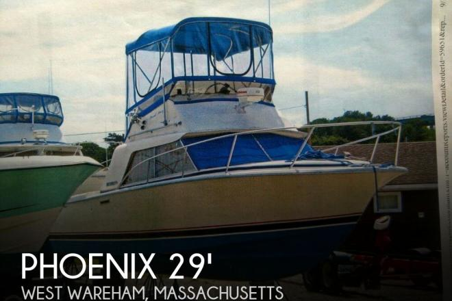 1984 Phoenix 29 Convertible - For Sale at West Wareham, MA 2576 - ID 143623