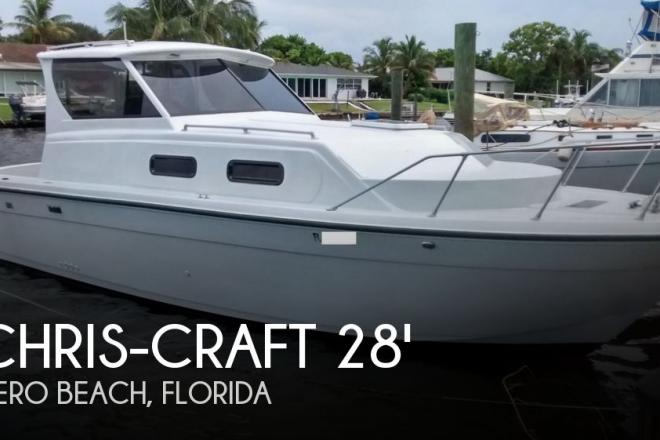 1984 Chris Craft Catalina 280 - For Sale at Vero Beach, FL 32966 - ID 160262