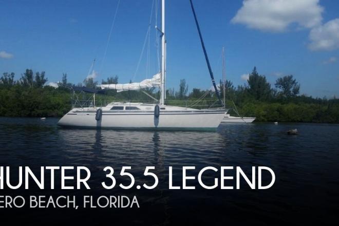 1990 Hunter 35.5 Legend - For Sale at Vero Beach, FL 32963 - ID 143936