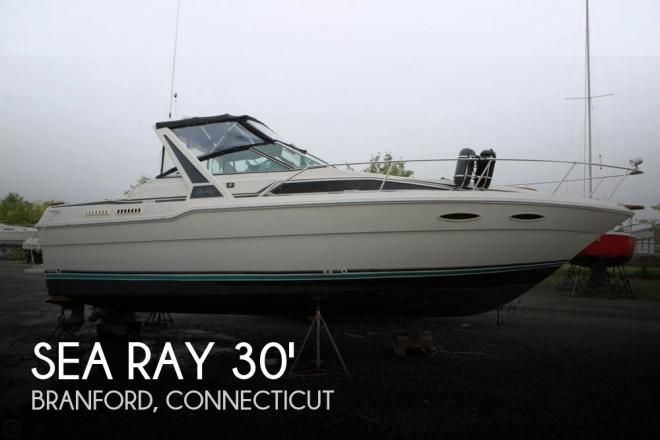 1986 Sea Ray 300 Sundancer - For Sale at Branford, CT 6405 - ID 142582