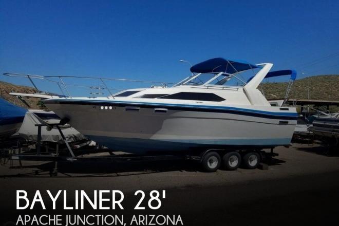 1987 Bayliner 2850 Sunbridge - For Sale at Apache Junction, AZ 85119 - ID 143227