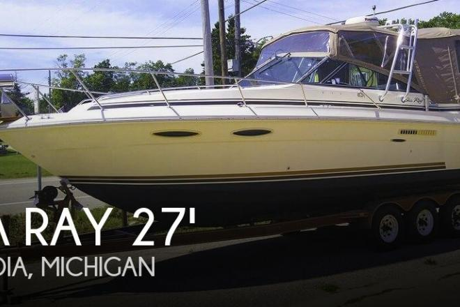 1987 Sea Ray 270 Amberjack - For Sale at Arcadia, MI 49613 - ID 141591