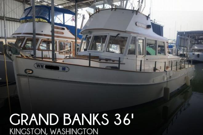 1964 Grand Banks 36 Classic - For Sale at Kingston, WA 98346 - ID 143410