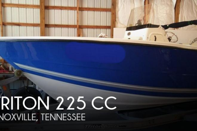 2008 Triton 225 CC - For Sale at Knoxville, TN 37938 - ID 142141