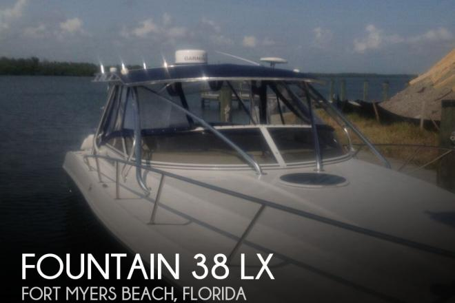 2009 Fountain 38 LX - For Sale at Fort Myers Beach, FL 33931 - ID 140598