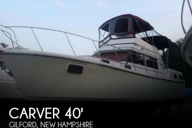 1981 Carver 3607 Aft Cabin - For Sale at Gilford, NH 3249 - ID 139619