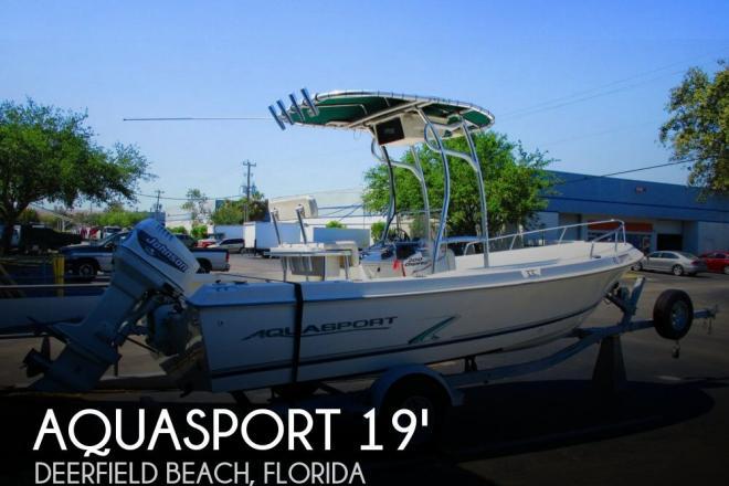 2000 Aquasport 200 Osprey - For Sale at Pompano Beach, FL 33073 - ID 139637