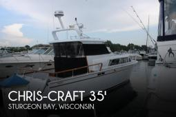 1960 Chris Craft 35 Roamer