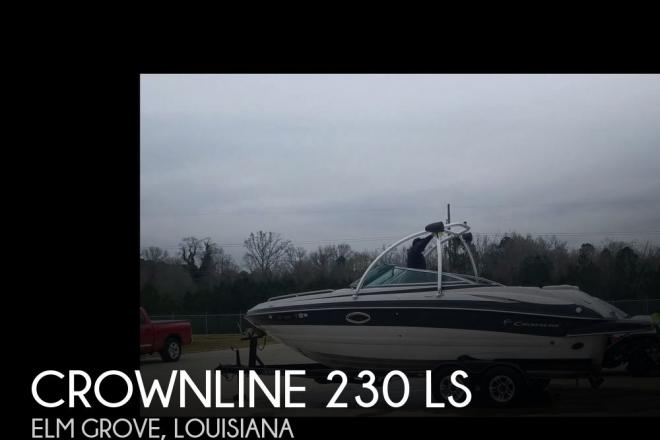 2008 Crownline 230 LS - For Sale at Elm Grove, LA 71051 - ID 139951