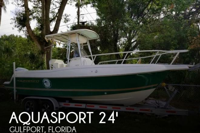 1998 Aquasport 245 Osprey - For Sale at Saint Petersburg, FL 33707 - ID 156612