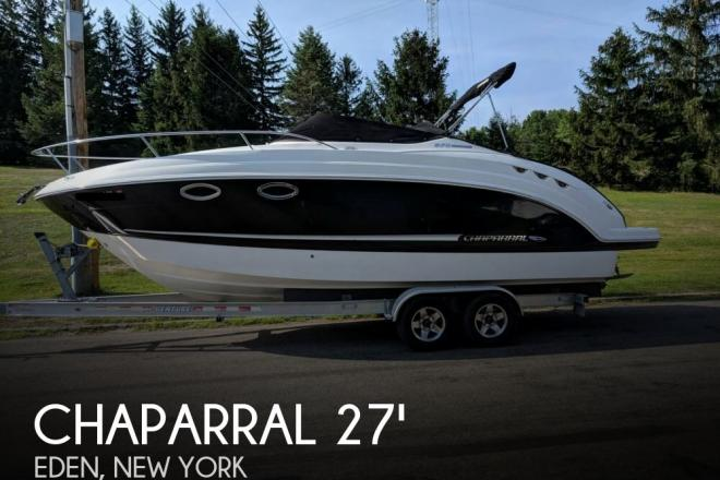 2010 Chaparral 270 Signature - For Sale at Eden, NY 14057 - ID 139828