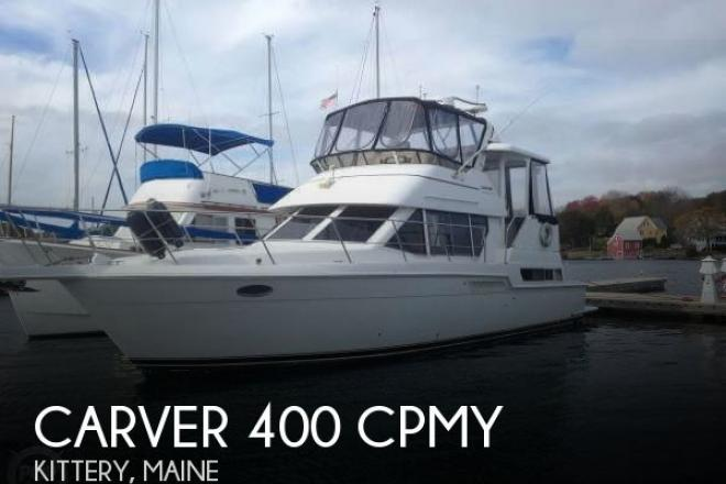 1998 Carver 400 CPMY - For Sale at Kittery, ME 3904 - ID 138611