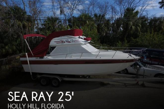 1980 Sea Ray Sedan Bridge SRV 270 - For Sale at Holly Hill, FL 32117 - ID 136801
