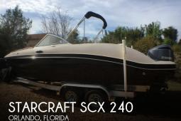 2013 Starcraft SCX 240