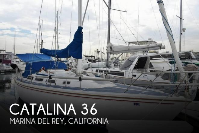 1986 Catalina 36 - For Sale at Marina del Rey, CA 90292 - ID 157211