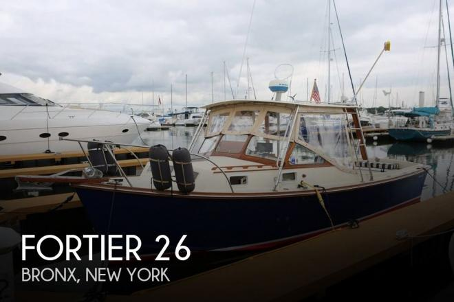 1978 Fortier 26 - For Sale at Bronx, NY 10464 - ID 135558