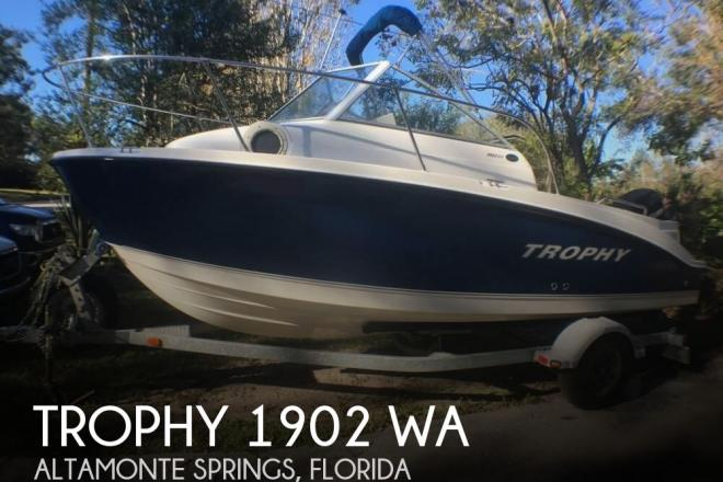 2006 Trophy 1902 WA - For Sale at Altamonte Springs, FL 32714 - ID 134743