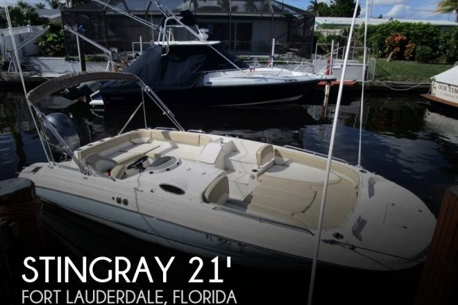 2017 Stingray 212SC deck boat - For Sale at Fort Lauderdale, FL 33331 - ID 134708