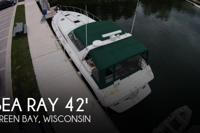 1990 Sea Ray 420 Sundancer - For Sale at Green Bay, WI 54302 - ID 134453
