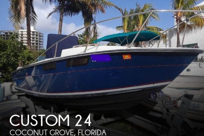 1978 Custom Built 24 - For Sale at Miami, FL 33133 - ID 134053