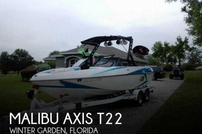 2016 Malibu Axis T22 - For Sale at Winter Garden, FL 34777 - ID 132848
