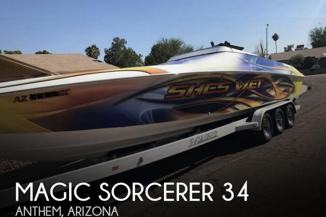 1999 Magic Sorcerer 34 - For Sale at Anthem, AZ 85086 - ID 133316