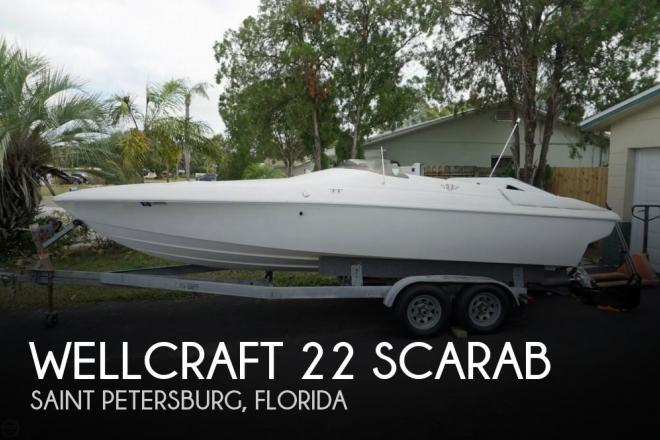1995 Wellcraft 22 Scarab - For Sale at Saint Petersburg, FL 33709 - ID 132444