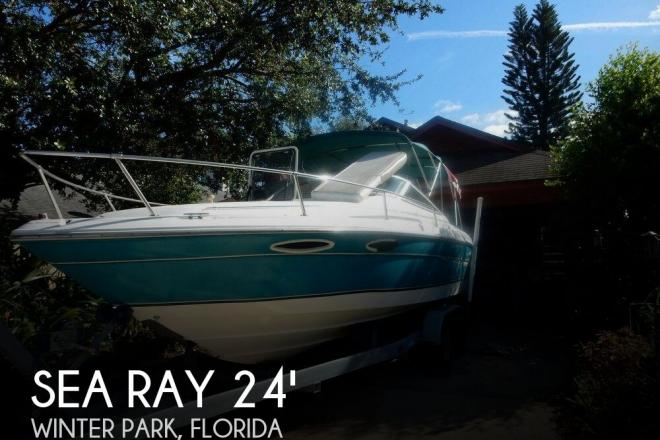 1995 Sea Ray 240 Overnighter - For Sale at Winter Park, FL 32789 - ID 131510