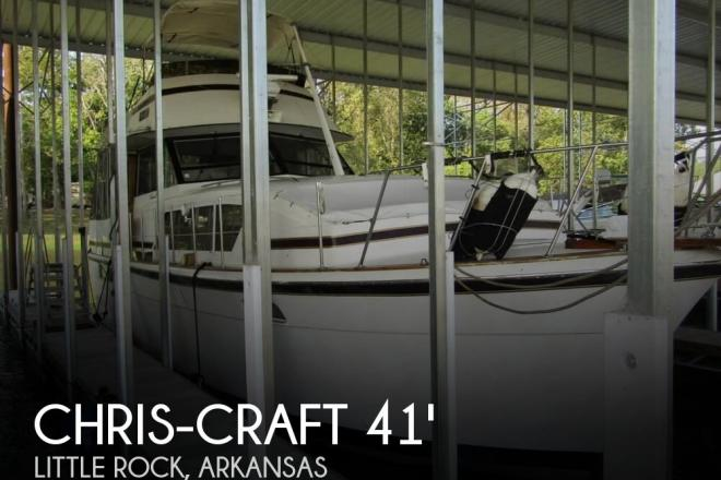1976 Chris Craft 410 Commander - For Sale at Little Rock, AR 72203 - ID 130966