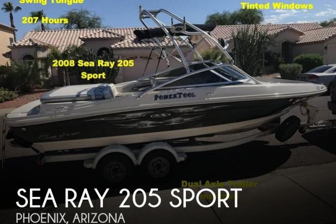 2008 Sea Ray 205 Sport - For Sale at Phoenix, AZ 85001 - ID 130120
