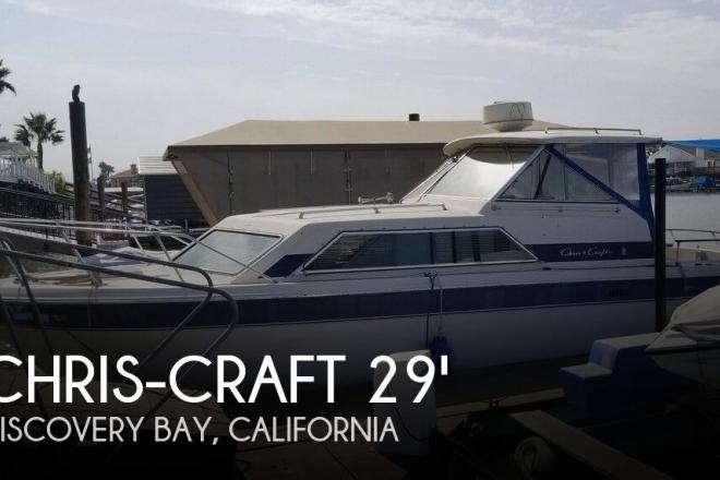 1984 Chris Craft Catalina 281 - For Sale at Discovery Bay, CA 94505 - ID 129541