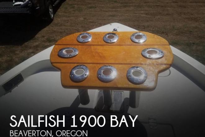 2008 Sailfish 1900 Bay - For Sale at Beaverton, OR 97003 - ID 130127