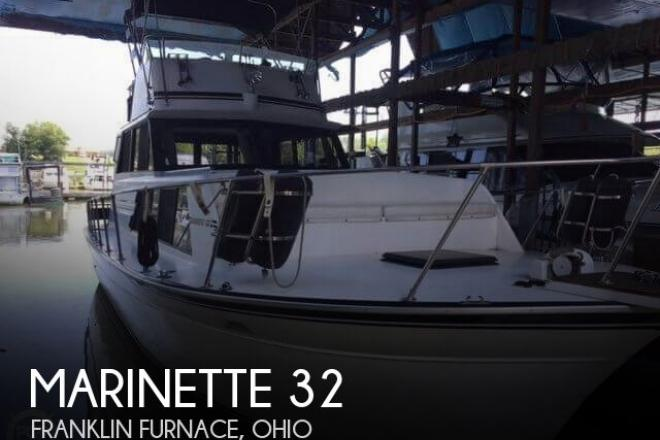 1987 Marinette 32 - For Sale at Franklin Furnace, OH 45629 - ID 128966