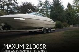 2001 Maxum 2100SR
