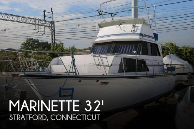 1989 Marinette 32 Fly Bridge Sedan Cruiser - For Sale at Stratford, CT 6614 - ID 131231