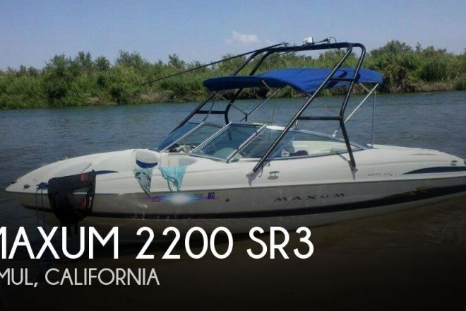 2004 Maxum 2200 SR3 - For Sale at Jamul, CA 91935 - ID 129471