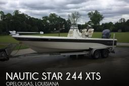 2016 Nautic Star 244 XTS