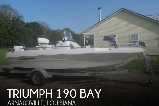 2011 Triumph 190 Bay - For Sale at Arnaudville, LA 70512 - ID 127781
