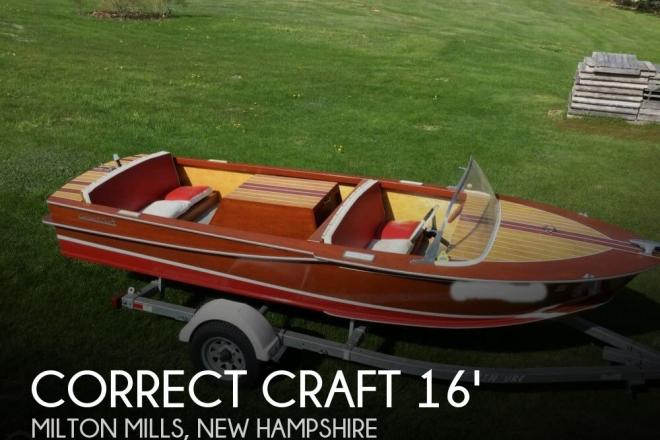 1963 Correct Craft Atom Skier - For Sale at Milton Mills, NH 3852 - ID 127730