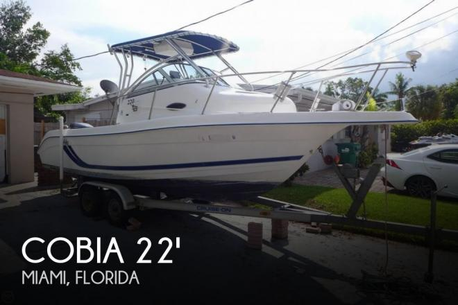 2000 Cobia 220 Walkaround - For Sale at Miami, FL 33177 - ID 127544