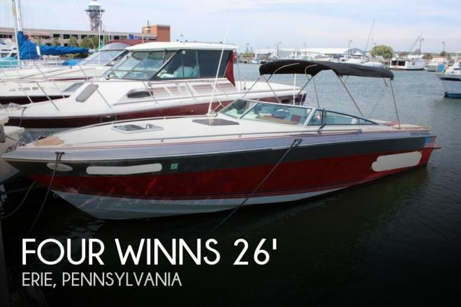 1987 Four Winns Liberator 261 - For Sale at Erie, PA 16501 - ID 127556