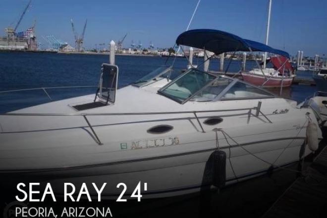 1996 Sea Ray 240 Sundancer - For Sale at Peoria, AZ 85383 - ID 127844
